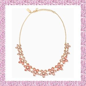 """Kate Spade ♠️ """"Bed of Roses"""" Necklace NWTs"""